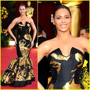 Beyonce -- Oscars 2009