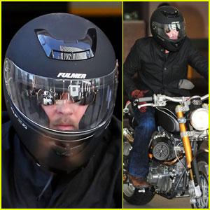 Brad Pitt Rides Fulmer Fast