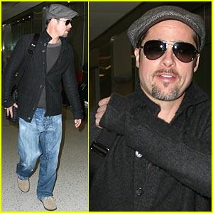 Brad Pitt: Weekend Getaway!
