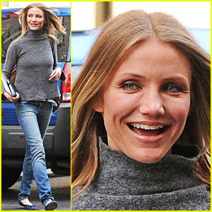 Cameron Diaz Gets Gray Graceful