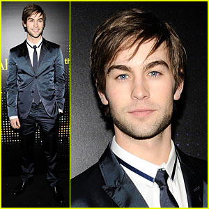 Chace Crawford Opens Armani Exchange