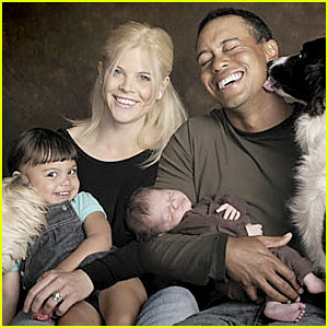 Charlie Woods -- First Pictures of Tiger's Son