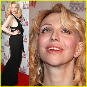 Courtney Love Likes Sophisticated Style