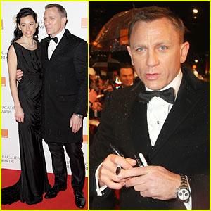 Daniel Craig is BAFTA Bold Daniel Craig Satsuki Mitchell Just Jared
