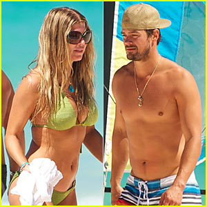 Fergie & Josh Duhamel: Sailboating Sweethearts