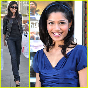 Freida Pinto is a Millionaire Movie Star