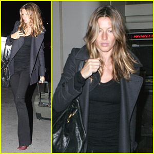 Gisele Bundchen is Stopped By Security