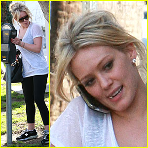 Hilary Duff is a Meter Maid