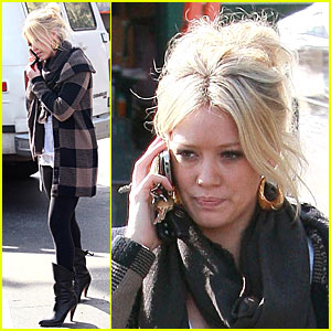 Hilary Duff Whispers About Ghosts