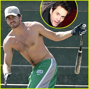 Jake Gyllenhaal & Jim Carrey: Damn Yankees!