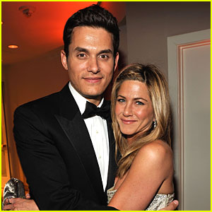 Jennifer Aniston & John Mayer Share Oscar Lovin'