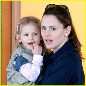 Violet Affleck: Mommy Time!