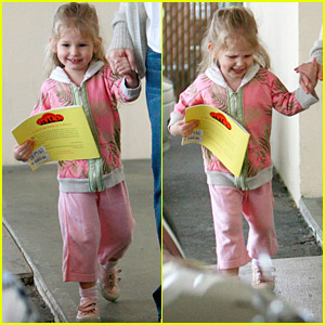 Violet Affleck's Tiny Temper Tantrum