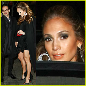 Jennifer Lopez: Valentine's Day Dinner Date
