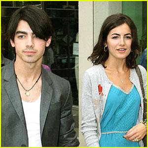 Joe Jonas & Camilla Belle: Sunday Day Out!
