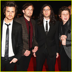 Kings of Leon are Burberry Boys