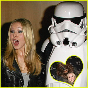 Kristen Bell is Fanboy Fabulous
