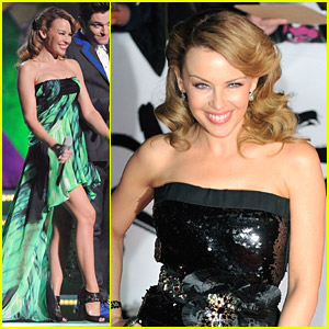 Kylie Minogue Brings The Brit Awards