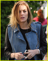 Lindsay Lohan Watches Out For Watches