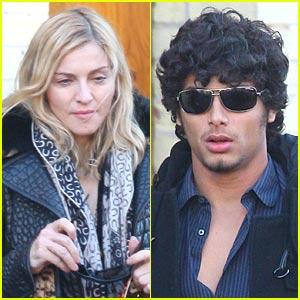 Madonna & Jesus Luz: Dinner Date