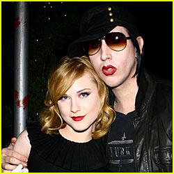 Marilyn Manson & Evan Rachel Wood Reunite