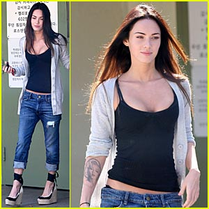 Megan Fox Visits Brian Austin Green's Son