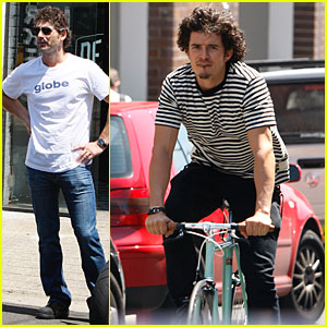 Orlando Bloom: Bikes & Bana