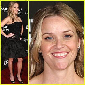 Reese Witherspoon Gets Montblanc Beautiful