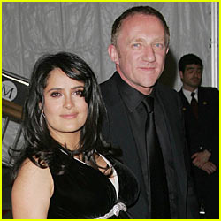 Salma Hayek's Secret Saturday Wedding