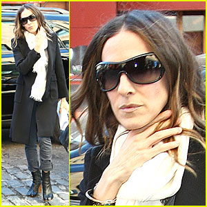 Sarah Jessica Parker Gets Darker 'Do