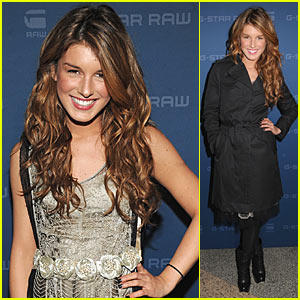 Shenae Grimes is G-Star Sexy