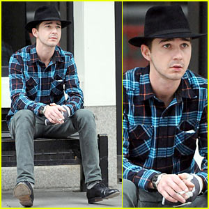 Shia LaBeouf: Fedora Fashion