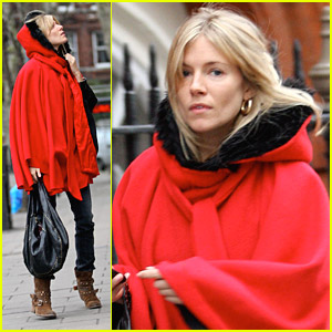 Sienna Miller is Little Red Riding Hood