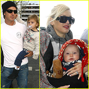 Gwen, Gavin, Kingston and Zuma Head Home