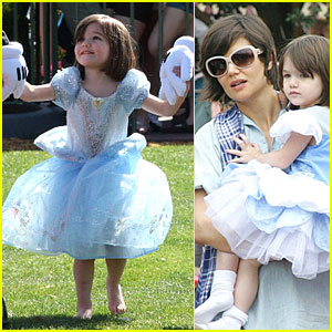 Suri Cruise is a Disney Pretty Princess