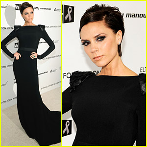 Victoria Beckham Is Sweet On Sir Elton John