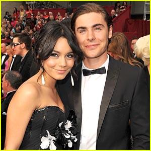 Zac Efron & Vanessa Hudgens -- Oscars 2009