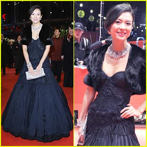 Ziyi Zhang: Berlin Film Festival Fun