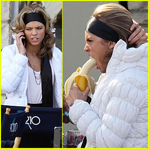 AnnaLynne McCord Goes Bananas