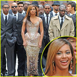 Beyonce Shoots 'I Am' Concert Video