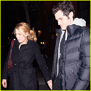 Blake Lively & Penn Badgley's Dinner Date
