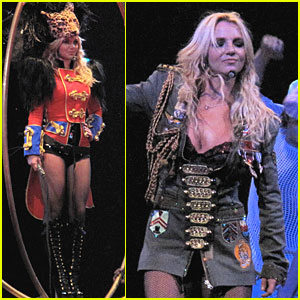 Britney Spears Hits the Big Top