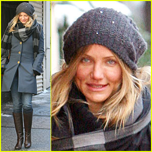 Cameron Diaz: Bitter Cold in the Big Apple