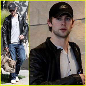 Chace Crawford is a Trip-Taker