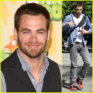 Chris Pine is Captain Nickelodeon