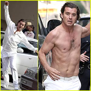 Gavin Rossdale Shoots 'Forever May You Run' Video