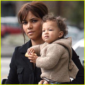 Halle Berry Babies Baby Nahla