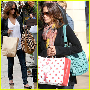 Halle Berry Shops For Nahla Birthday Gifts