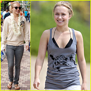 Hayden Panettiere is a Widget Woman