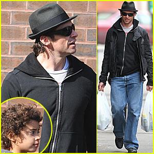 Hugh Jackman and Son: West Village Wanderings